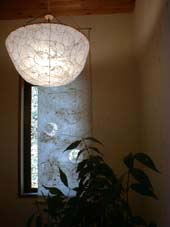 ceiling lamps with paper